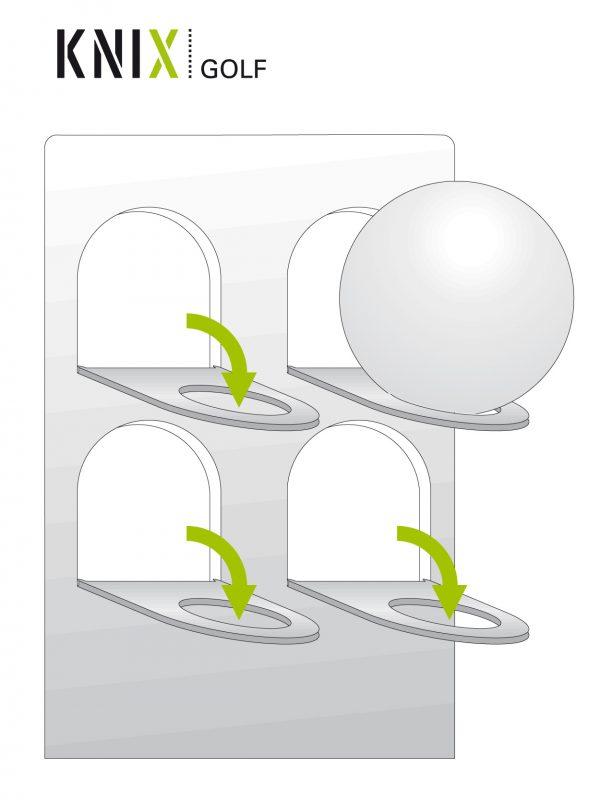 Anleitung - Golfball-Setzkasten